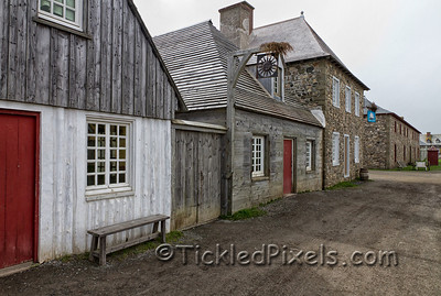 Streetscape on the Quay - Fortress of Louisbourg