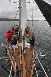 The Schooner Amoeba on Bras d'Or Lake