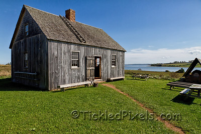 The Doucet House, Rustico, PEI