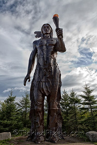 Glooscap - first human in Mi'kmaw legend
