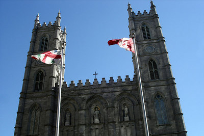 Basilique Notre Dame - Montreal, QC ... October 7, 2006 ... Photo by Emily Conger