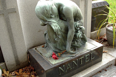 A tomb in the Cimetiere Notre-Dame-des-Neiges - Montreal, QC ... October 9, 2006 ... Photo by Emily Conger