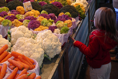 Everyone shops at the Marche Jean Talon - Montreal, QC ... October 8, 2006 ... Photo by Emily Conger