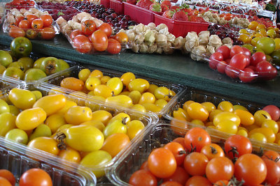 Mixed goods at the Marche Jean Talon - Montreal, QC ... October 8, 2006 ... Photo by Emily Conger