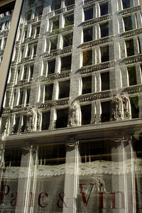 Window Reflections - Montreal, QC ... October 7, 2006 ... Photo by Emily Conger