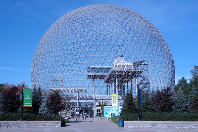 The Biosphere, a left over from the 1967 World's Fair - Montreal, QC ... October 8, 2006 ... Photo by Rob Page III