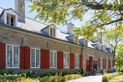 The Château Ramezay is a museum and historic building on Notre-Dame Street in Old Montreal, opposite Montreal City Hall in Montreal, Quebec, Canada.  Built in 1705 as the residence of then-governor of Montreal, Claude de Ramezay, the Château was the first building proclaimed as a historical monument in Quebec and is the province's oldest private history museum. It was designated a National Historic Sites of Canada in 1949.