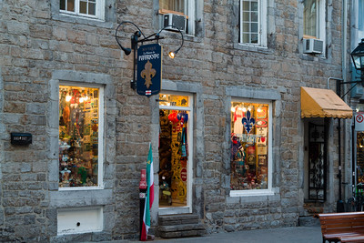 Old Montreal Storefront