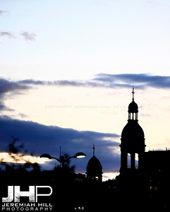 """Atwater Steeple at Sunset #1"", Montreal, Quebec, 2011 Print JP11-822-369"