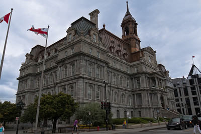 Montreal City Hall, in Old Montreal