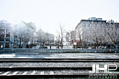 """Old Montreal Railway Tracks #2"", Montreal, Quebec, 2013 Print JP13-426-0043"