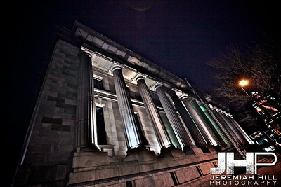 """Old Montreal At Night #5"", Montreal, Quebec, 2013 Print JP13-426-0301"