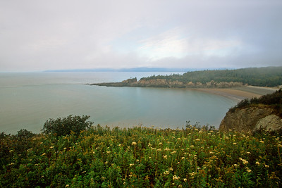 Cape Enrage viewed from lighthouse