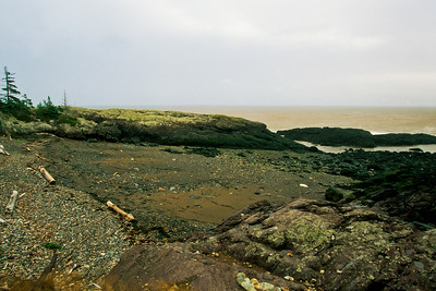 """The Gorge"" rocks at low tide"