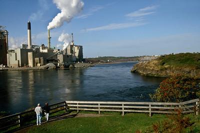 Reversing Falls near Saint John