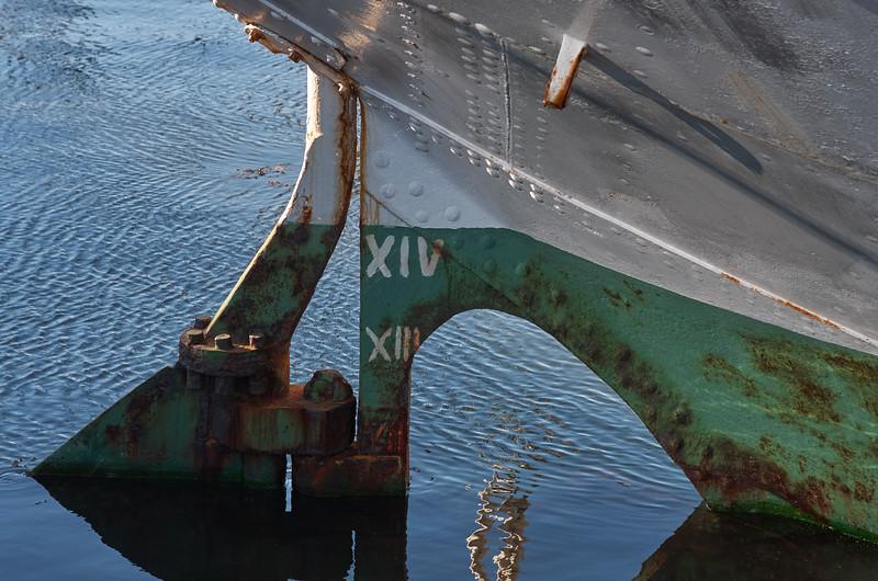 Rusty rudder