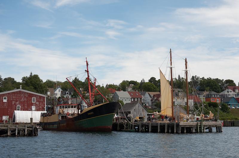 Dockside view