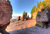 Gorgeous sunrise on Hopewell Rocks