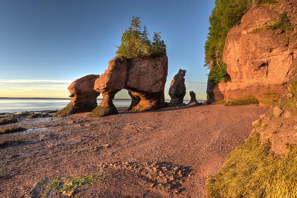Magical Sunrise on Hopewell Rocks