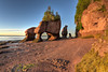 Magical Sunrise on Hopewell Rocks