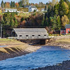 A covered Bridge just outside of St. Martens, New Brunswick.