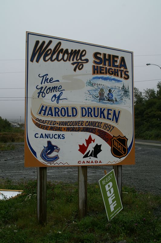 Wow!! A sign of home.<br /> (Go Canucks!!!)