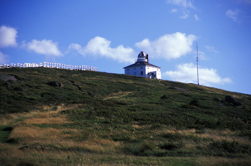 Cape Spear on a sunny (and windy) day