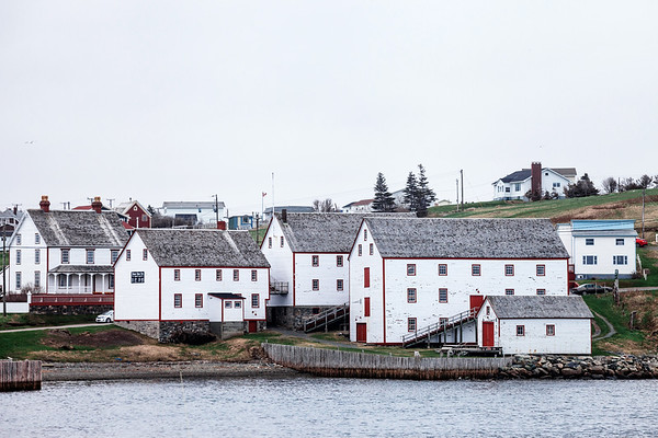 View on the Ryan Premises National Historic Site of Canada located in the town of Bonavista, Newfoundland and Labrador.