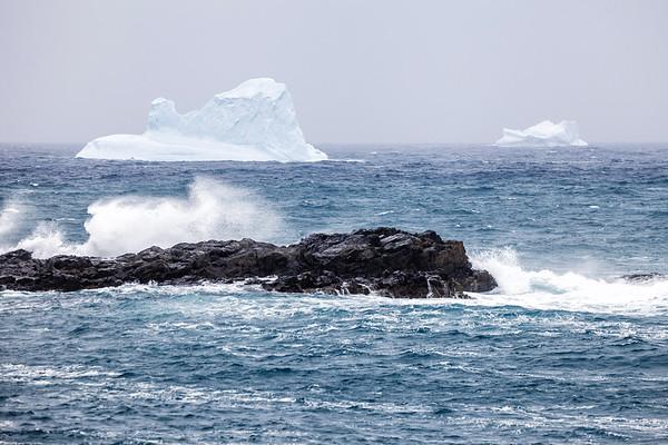 Iceberg seen from Cape Bonavista in Newfoundland and Labrador.