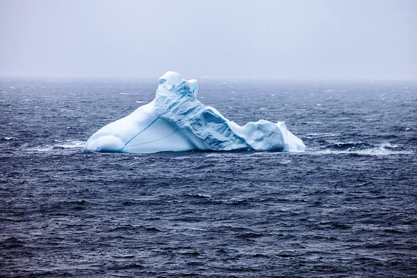 Iceberg in Newfoundland.