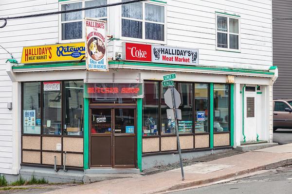 Butcher Shop in downtown St. John's, Newfoundland