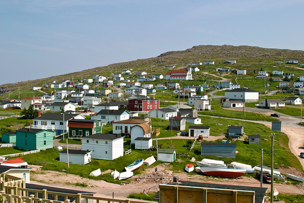 The town of Bay de Verde, Newfoundland