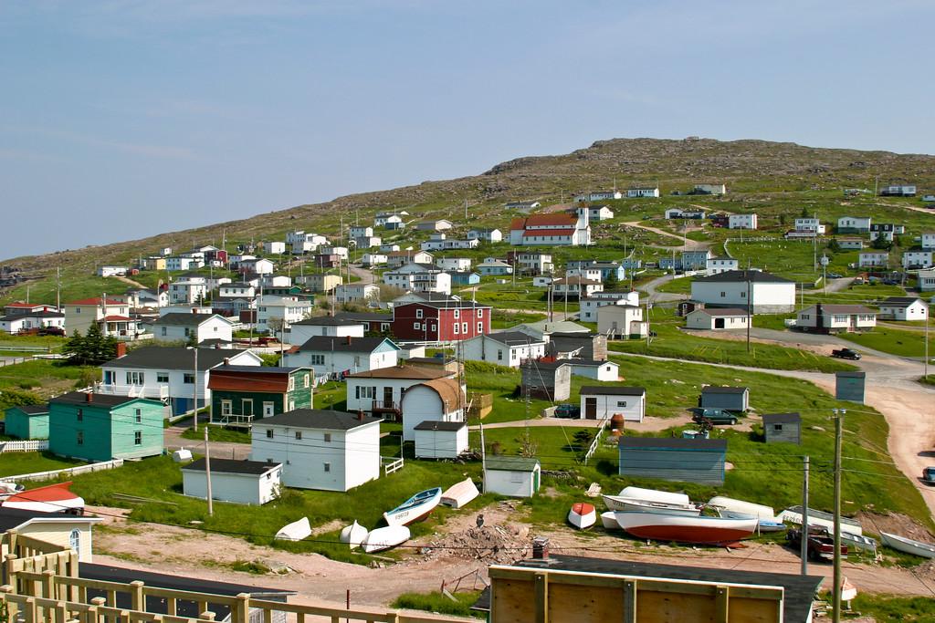 The town of Bay de Verde, Newfoundland