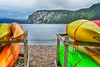 Kayaks and Canoes in Gros Morne
