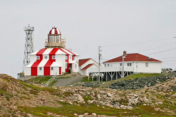The lighthouse at Cape Bonavista, Newfoundland