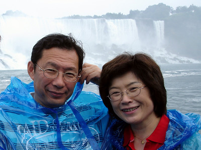 The Kato Family - Niagara Falls, Canada ... June 12, 2005 ... Photo by Rob Page III