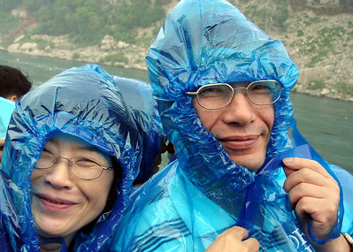 Mama and Papa Kato - Niagara Falls, Canada ... June 12, 2005 ... Photo by Rob Page III