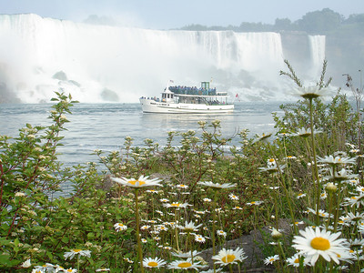 The Maid of the Mist - Niagara Falls, Canada ... June 12, 2005 ... Photo by Rob Page III