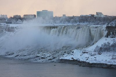 The American Falls - Niagara Falls, ON ... December 22, 2008 ... Photo by Rob Page III