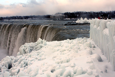 A frozen wonderland - Niagara Falls, ON ... December 22, 2008 ... Photo by Rob Page III