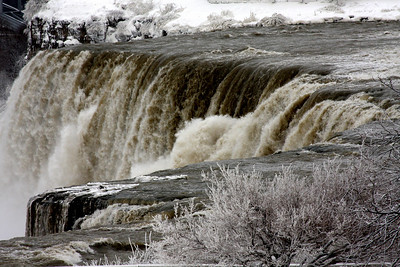 The American Falls - Niagara Falls, NY ... December 23, 2008 ... Photo by Rob Page III