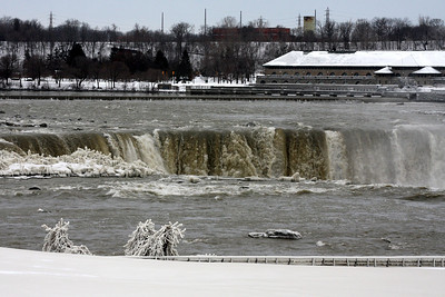 Niagara Falls - Niagara Falls, NY ... December 23, 2008 ... Photo by Rob Page III