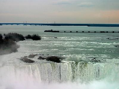 Horseshoe Falls, Niagara Falls, At Sunset