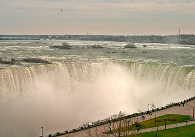 Horseshoe Falls, Niagara Falls, At Sunset