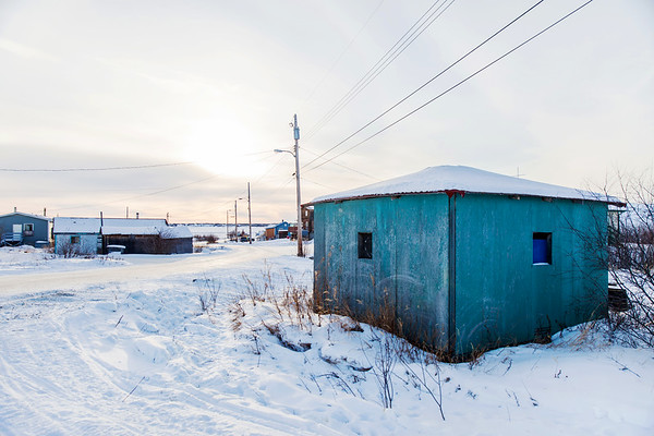 Dettah First Nations Community near Yellowknife