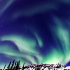 Northern Lights close to Yellownife, Northwest Territories, Canada
