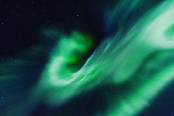 Twirl of Northern Light