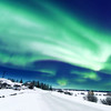 Northern Lights close to Yellowknife in the Northwest Territories in Canada / Aurore Boréale près de Yellowknife, Canada