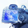Frost on my camera in Yellowknife