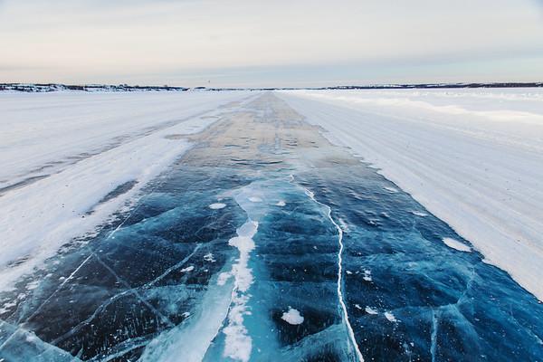Dettah Ice Road Yellowknife 8